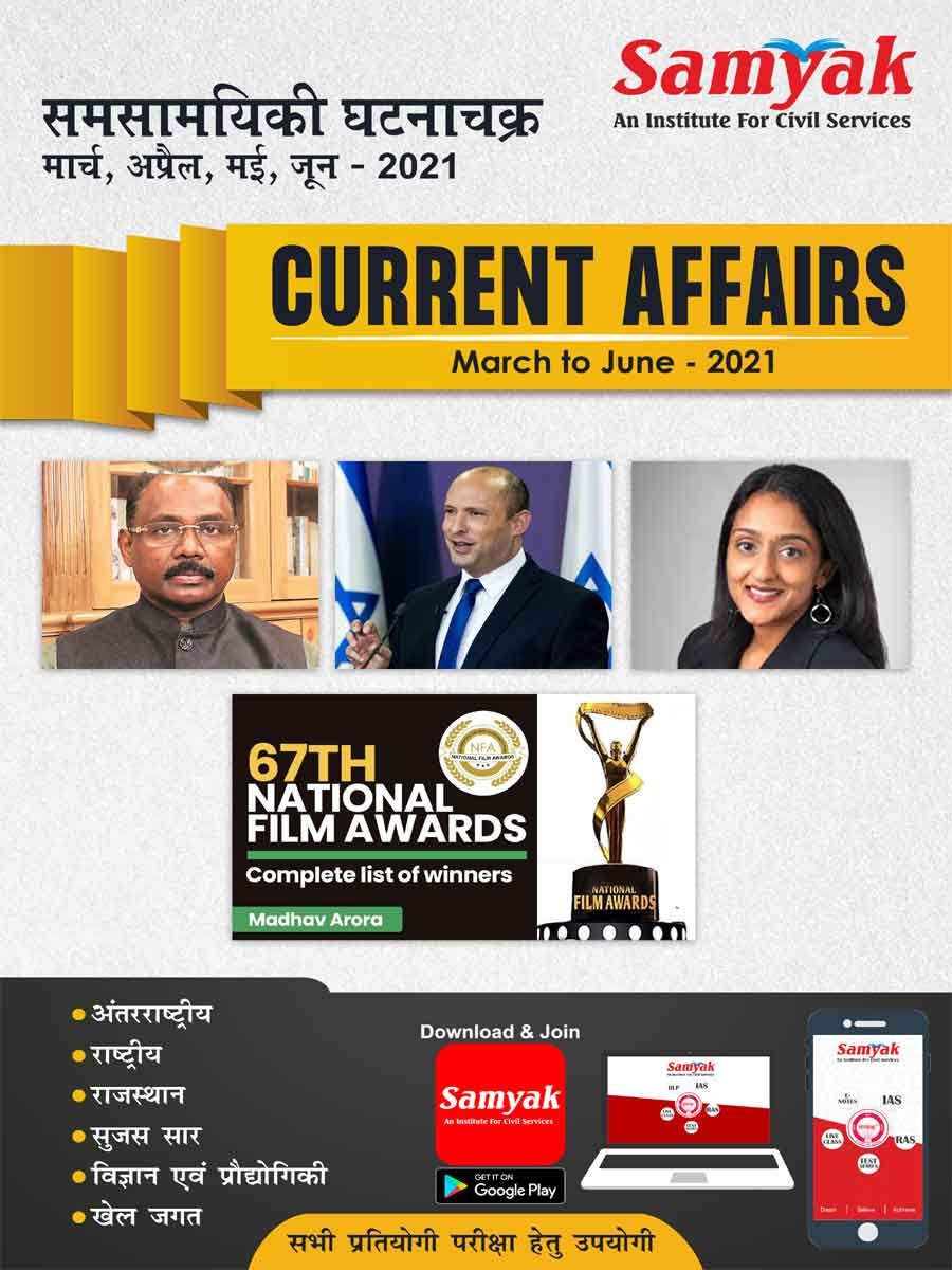 Current Affairs March to June